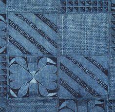 indigo ikats of africa | ... Arts | News | Indigo at Indigo: Indigo-dyed Textiles from Africa