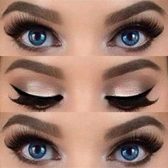 Gorgeous Makeup: Tips and Tricks With Eye Makeup and Eyeshadow – Makeup Design Ideas Makeup Up, Eye Makeup Tips, Smokey Eye Makeup, Makeup Tools, Makeup Brushes, Makeup Ideas, Makeup Hacks, Makeup Tutorials, Prom Makeup