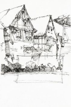 Do you want to draw or sketch houses? Get here some ideas, tips on how to draw and sketch buildings. Some basic explanations on perspective are...