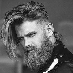 3 Top Useful Ideas: Older Women Hairstyles Asian funky hairstyles easy. Viking Beard Styles, Beard Styles For Men, Hair And Beard Styles, Beards And Mustaches, Moustaches, Undercut Hairstyles, Hairstyles With Bangs, Viking Hairstyles, Bouffant Hairstyles