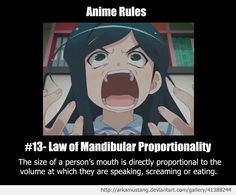 Anime Rule #13 by ArkaMustang.deviantart.com on @deviantART