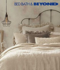 Think casual sophistication, neutral colors and cozy, washed linens that beg you to stay in bed just a little longer. Relaxed Casual décor is timeless, inviting and on-trend, and with these bedding tips, you're well on your way to creating the perfect Relaxed Casual bedroom.