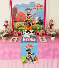 Gabriela M's Birthday / Farm - Photo Gallery at Catch My Party Farm Birthday, 1st Birthday Parties, Happy Birthday, Farm Party, Farm Theme, Birthday Decorations, First Birthdays, Baby Shower, Party Ideas