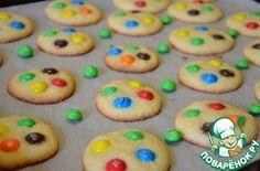 Американское печенье с M&M's