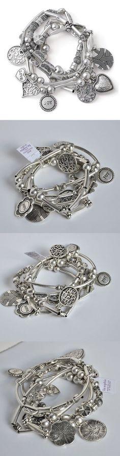 Bracelets 50637: Lia Sophia Menagerie Stretch Bracelet -> BUY IT NOW ONLY: $48.8 on eBay!