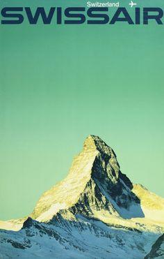 Matterhorn - Swissair