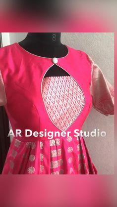 Baby Frock Pattern, Frock Patterns, Designer Blouse Patterns, Sleeves Designs For Dresses, Dress Neck Designs, Bridal Blouse Designs, Churidar Neck Designs, Kurta Neck Design, Indian Fashion Dresses