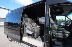 Mercedes-Benz Sprinter Tamlans Camping Van Motorhome, Benz Sprinter, Van Life, Project Ideas, Mercedes Benz, Rv, Vans, Camping, Campsite