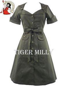 JAWBREAKER 40s 50s VINTAGE ARMY MILITARY DRESS KHAKI | eBay