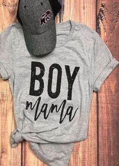 bd810f705eac74 Fashion Women T-Shirt Short Sleeve Boy Mama Letter Print O-Neck T-Shirt