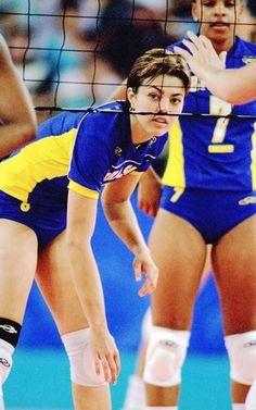 leila barros volleyball Brazil 2000