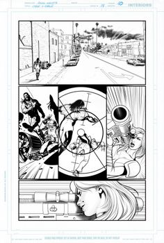 """A page from the four-part X-Force crossover in """"Vendetta!"""""""