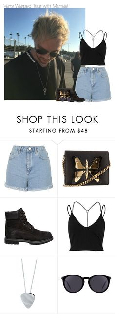 """Vans Warped Tour with Michael"" by fanny483 ❤ liked on Polyvore featuring Topshop, Gucci, Timberland, River Island, Edge Only and Yves Saint Laurent"