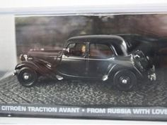 Citroen Traction Avant Legere (1954) Diecast Model Car from James Bond From Russia With Love @ niftywarehouse.com #NiftyWarehouse #Nerd #Geek #Entertainment #TV #Products