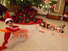 Deer season ends badly for Clarice and Rudolph. Naughty Gilmore.