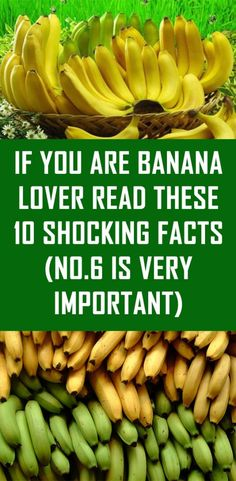 If You Are Banana Lover Read These 10 Shocking Facts (No