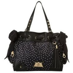 Juicy Couture Daydreamer Easy Everyday (Black Stars Print) Bags ...