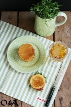 Ricetta pancake salati alla birra e miele