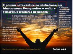 Ministério Adolescentes: Versículo da Semana: Salmo 40.3