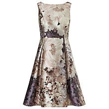 Buy Phase Eight Casey Floral Dress, Praline/Cream Online at johnlewis.com