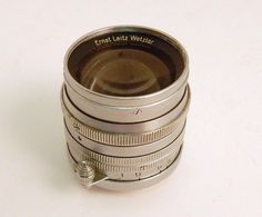 Vintage Ernst Leitz Wetzlar Summarit f=1:1.5 nr 822350 Germany Screw Mount Lens #Leitz
