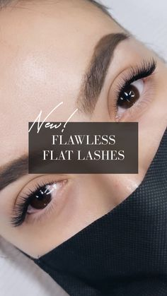 NEW AND IMPROVED! Our updated flat lashes are softer, lighter and thinner than ever before🤩 These classic 0.10 thickness extensions are compressed using new technology so that they look like a 0.15 thickness lash, but without the weight! These new flat lashes are much lighter thanthe typical 0.15 or even 0.12 eyelash extensions. Our new flat lashes don't have that heavy, plastic-like look or weight that could damage the natural lash! Natural Lashes, New Technology, Eyelash Extensions, Business Ideas, Lighter, Eyelashes, Plastic, Flat, Products