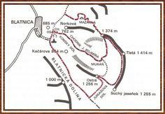 blatnica Line Chart, Diagram, Map, Location Map, Maps