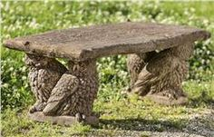 Buy Owl Bench online with free shipping from thegardengates.com