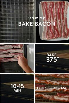 Everyone loves bacon, right? Bacon is all the rage right now which leads to it showing up in the most unusual, but surprisingly delicious, places! You no longer have to stick with bacon only in your Bacon Recipes, Brunch Recipes, Breakfast Recipes, Cooking Recipes, Cooking Stuff, Cooking Bacon, Cooking Videos, Keto Recipes, Oscar Mayer Bacon