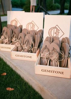 Give the gift of summer style! Accessorize your guests with gifts they'll use all season long. Wedding Favors, Summer Wedding Ideas