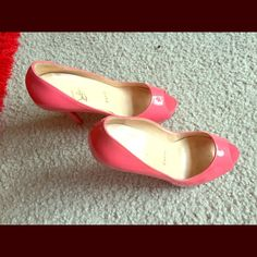Pumps Christian Louboutin Authentic in good condition but need cleaning some stain on it Christian Louboutin Shoes Heels