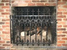 Gothic Fireplace