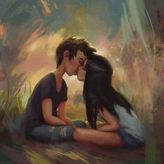 The Romantic Illustrations of Zac Retz Love Cartoon Couple, Cute Couple Art, Cute Love Cartoons, Anime Love Couple, Cute Couples, Paar Illustration, Couple Illustration, Image Couple, Videos Instagram