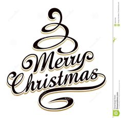 Merry Christmass Typography - Download From Over 35 Million High Quality Stock Photos, Images, Vectors. Sign up for FREE today. Image: 30016169