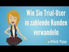 Wie Sie Trial-User in zahlende Kunden verwandeln Trials, Internet Marketing, Workshop, Youtube, Communication, Slim, Losing Weight, Reading, Health