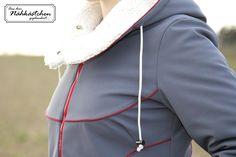 Noordwijk von Schnittherzchen Drawstring Backpack, Backpacks, Bags, Fashion, Winter Coat, Handbags, Moda, Fashion Styles, Backpack