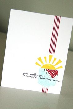 simple and stunning card from Erin Lincoln