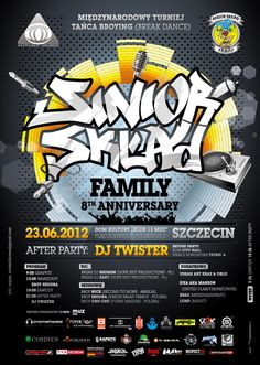 SSF Family Bboying Group Anniversary Party Poster