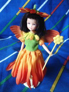 Vintage Hornby Flower Fairies 1983 MARIGOLD Fairy by LittleToyLost