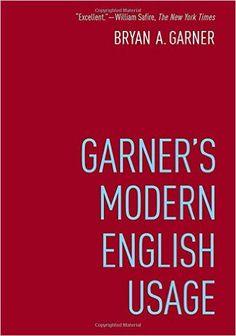Amazon.com: Garner's Modern English Usage (9780190491482): Bryan Garner: Books