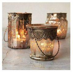 Art nouveau candles