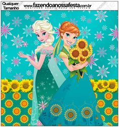 Frozen Fever: Free Printable Candy Bar Labels.