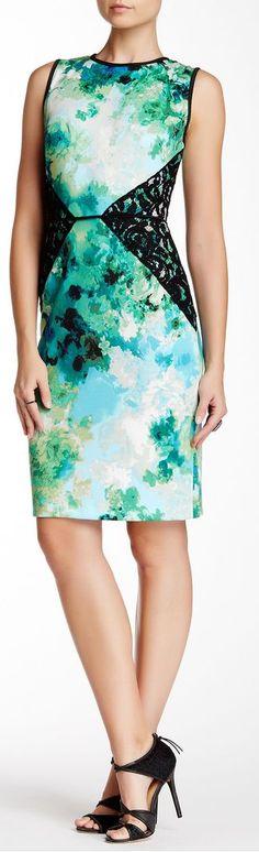 lace inset dress - Nordstrom Rack sponsored