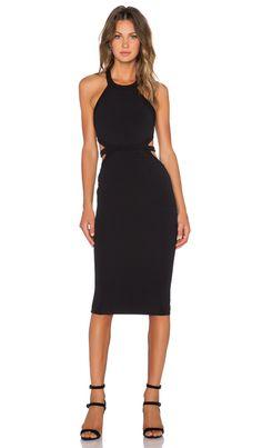 Nookie Crawford Bodycon Dress in Black | REVOLVE