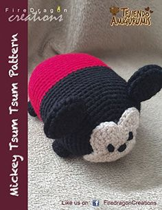 Mickey Tsum Tsum Pattern (Magic Hands Individual Patterns Book 6) - Find out how to get this free on Amazon.com