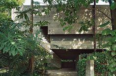 Paulo Mendes da Rocha | Casa no Butantã - Paulo Mendes da Rocha Residence [São Paulo, 1960] | photography: Nelson Kon