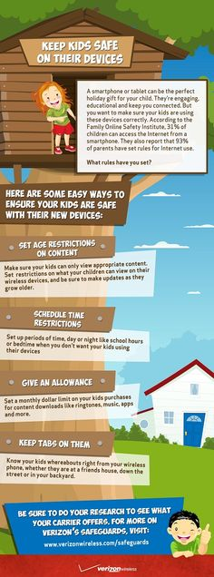 Smartphone Safety - Infographic - The Online Mom