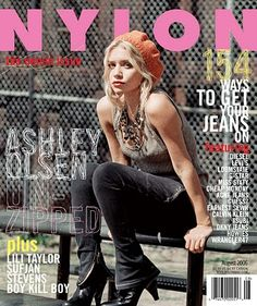 """Ashley Olsen on the cover of """"Nylon"""" magazine aug Ashley Mary Kate Olsen, Ashley Olsen Style, Elizabeth Olsen, Olsen Sister, Olsen Twins, V Magazine, Magazine Covers, Vanity Fair, Marie Claire"""