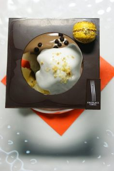 Plated Chocolate Dessert Thank you Sebastiaan | Bangkok Pastry Chefs