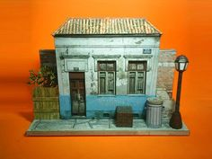 Brazilian Abandoned House - by Papermau - Download Now    Free Paper Model at Papermau!